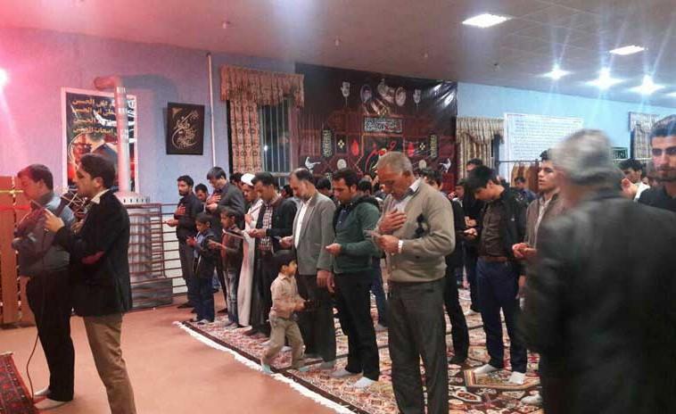 گزارش تصویری جلسه هفتگی هئیت بیت الاحزان رابر