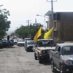 رژه موتوری در شهرستان رابر به روایت تصویر