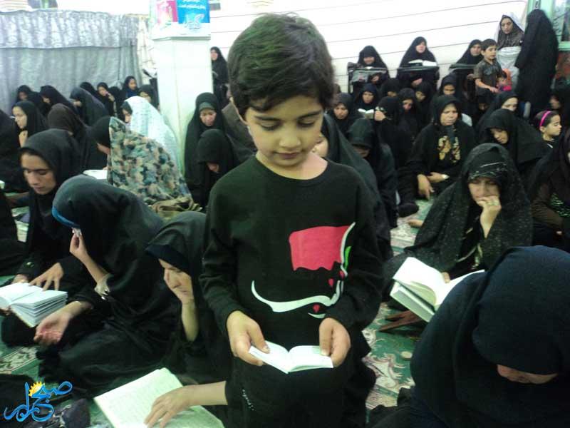مراسم احیای شب بیست ویکم در رابر برگزار شد/ تصاویر