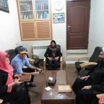 تشرف بانوی کره ای به دین اسلام در دفتر امام جمعه رفسنجان / تصاویر