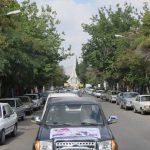 گزارش تصویری رژه موتوری نیروهای مسلح در رابر