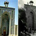 آتشی که مقاومت و ایستادگی مردم کرمان را به تصویر کشید