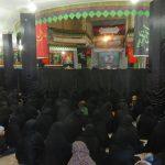 مراسم عزاداری شب سوم ماه محرم ۹۵ در هنزای رابر/ تصاویر