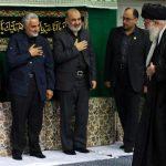 حضور سردار سلیمانی در مراسم شام غریبان حسینیه امام خمینی+عکس