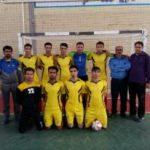 پیروزی پر گل تیم فوتسال رابر در هفته دوم  لیگ برتر استان