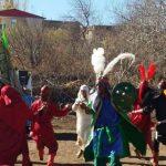 تعزیه قیام مختار در روستای ننیز علیا رابر برگزار شد