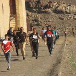 مسابقه دو صحرانوردی در رابر برگزار شد
