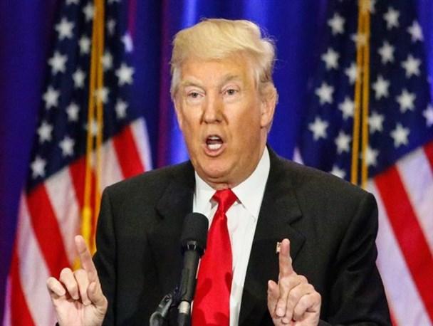 ترامپ: دولت اوباما داعش را ایجاد کرد/ روسیه میتواند به ما در مبارزه با داعش کمک کند/اخبار سیانان جعلی است