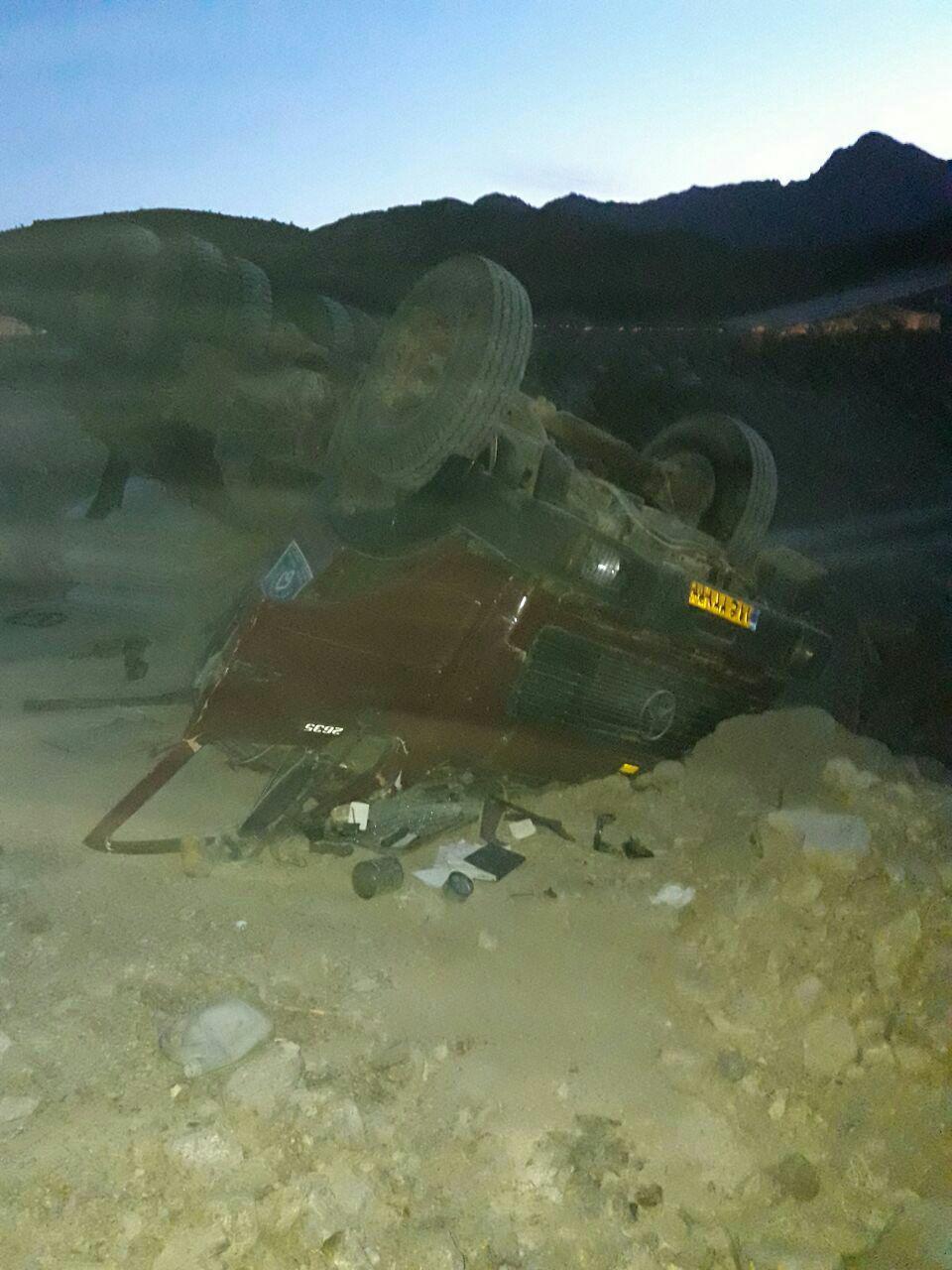 واژگونی کامیون در جواران رابر یک  کشته بر جای گذاشت