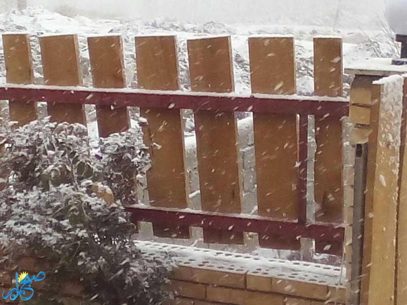 بارش برف هنزاء رابر