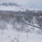 طبیعت برفی  روستای ننوک رابربه روایت تصویر