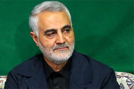 سردار قاسم سلیمانی در جمع همشهریان رابری در جبهه/عکس