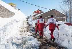 ۳ کارگر گرفتار در ارتفاعات برفی جبالبارز جیرفت پیدا شدند+جزئیات