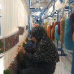 هنر بانوان قالیباف استان کرمان،فرش صحن حضرت زهرا(سلام الله علیها) نجف اشرف میشود