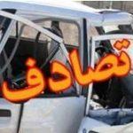یک کشته در برخورد کامیون ایسوزو با موتورسیکلت در رابر