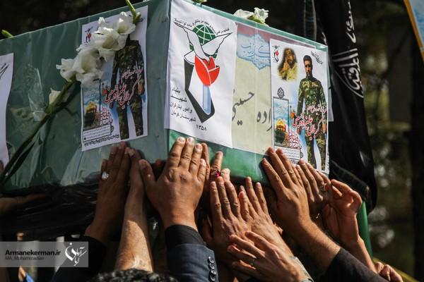 استقبال از شهید مدافع حرم علیزاده حسینی/تصاویر
