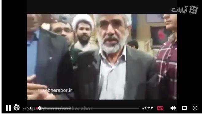 درخواست پدر شهید احمدی روشن و مردم زادگاه حاج قاسم سلیمانی از رئیس جمهور آینده/فیلم
