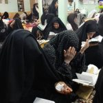 حال و هوای معتکفین رابر در روز پایانی اعتکاف به روایت تصویر