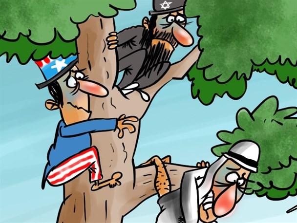 استتار دوستان داعش/کارتون