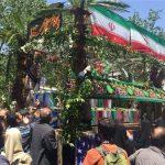 شهدای رمضان توسط روزهداران تشییع شدند/ پیام ایران از قلب تهران به داعش:«همه ما مدافع حرمیم»+فیلم