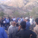 انتقال آب هلیل رود به کرمان بعد از جنوب فریاد مردم رابر را هم درآورد/تصاویر