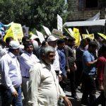 شکوه اقتدار مردم زادگاه سردار سلیمانی  در روز حیات اسلام