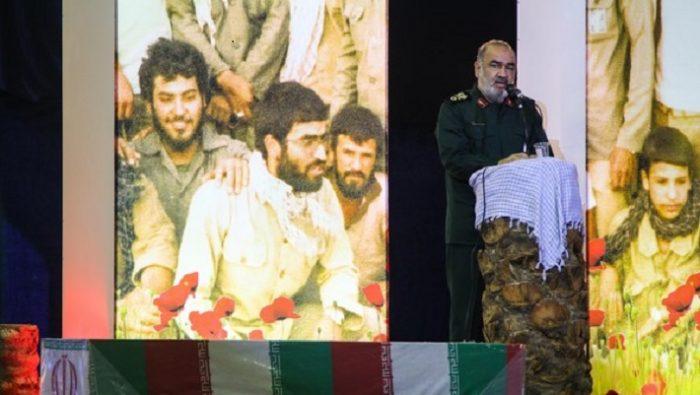 آمریکا امروزه در مقابل ایران متوقف و عاجز شده /دیارکریمان مهد پرورش فرماندهان بزرگ دفاع از ملت ایران است