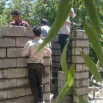 دست نوازش جهادگران رابری بر سر محرومان بهزیستی/تصاویر