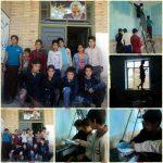 بهسازی مدارس رابر به دست دانش آموزان جهادگر/ تصاویر