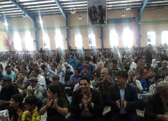 جشن بزرگ عید غدیر خم در رابر  برگزار شد/تصاویر