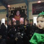 همایش شیرخوارگان حسینی در رابر برگزار شد/تصاویر