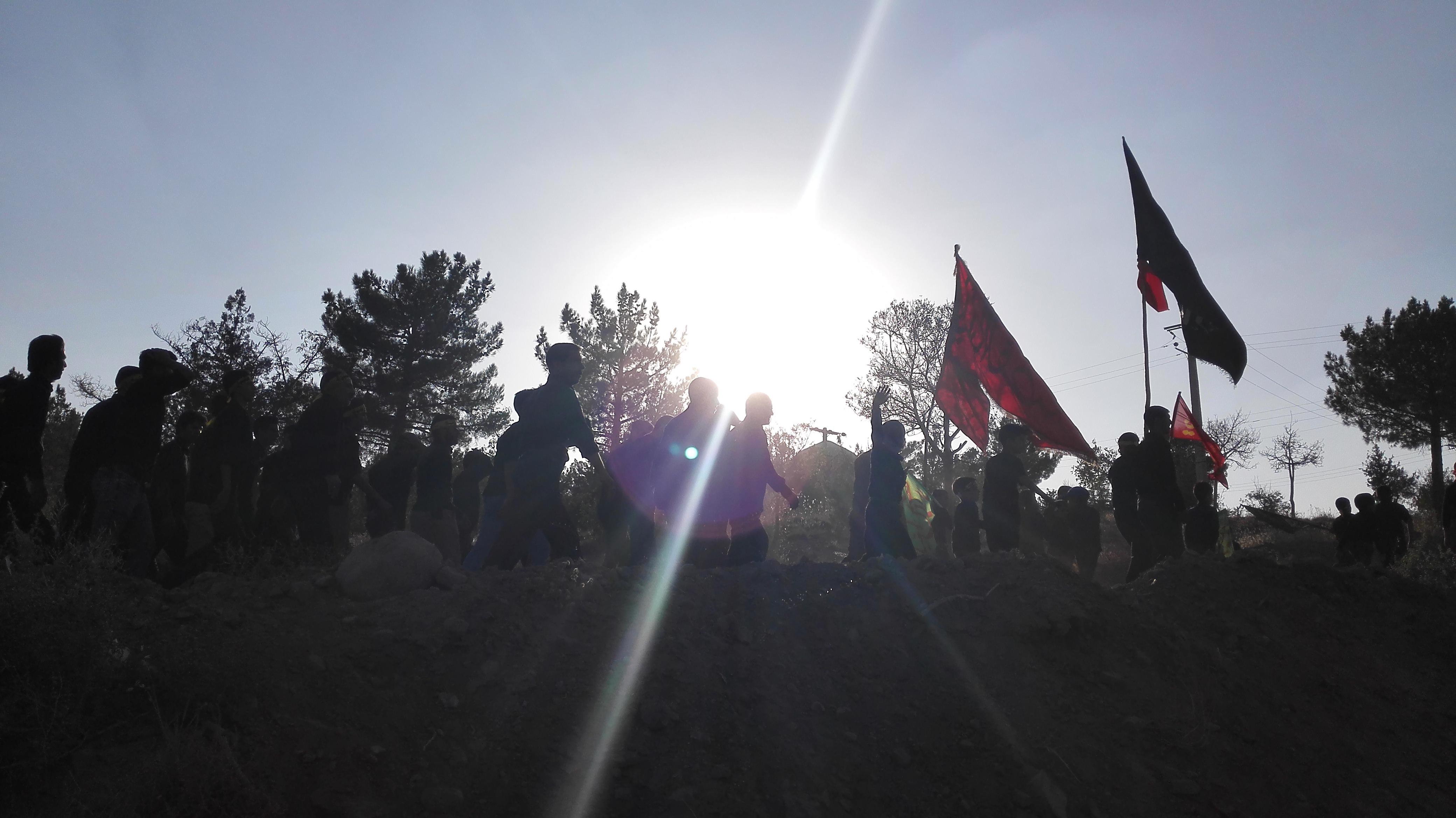 عزاداری تاسوعای حسینی در رابر/تصاویر