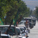 رژه اقتدار نیروهای مسلح در شهرستان رابر /تصاویر