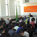 یادواره شهدای دانش آموز رابر و شهید شاخص بسیج دانش آموزی در دبیرستان جواد الائمه برگزار شد/تصاویر