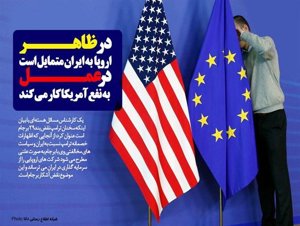 اظهارات ترامپ نقض بند ۲۹ برجام است/ اروپا در ظاهر به ایران متمایل است اما در عمل به نفع آمریکا کار می کند/ اروپا باید شکایت خود از کارشکنی های آمریکا را به WTO ببرد