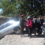 خودروی حامل اتباع غیر مجاز دردام پلیس رابر/تصاویر