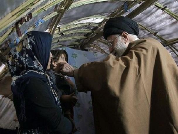 رهبر انقلاب تاکنون در کدام مناطق زلزلهزده حضور پیدا کردهاند؟ + تصاویر