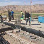 ساخت یادمان پنج شهید گلزار شهدای روستای کلدان به روایت لنز دوربین شهروند خبرنگار