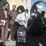 اعزام ۸۴ دانش آموز رابری به کربلای ایران/تصاویر