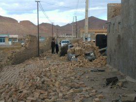 حضور فرمانده سپاه ثارالله استان در منطقه زلزله زده/وقوع دو پس لرزه بالای ۴ ریشتر در کوهبنان/تنها یک مصدوم از زلزله شب گذشته بستری است