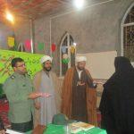 جشن میلاد حضرت حضرت زینب (س) درمسجد امام حسین رابر برگزار شد