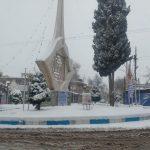 اولین بارش برف زمستانی رابر را سفید پوش کرد+تصاویر