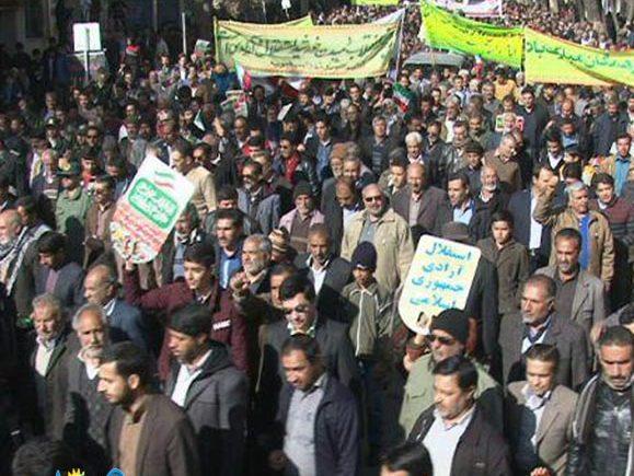 عیدچهل سالگی انقلاب اسلامی در رابر +تصاویر