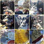 جشنواره غذاهای بومی به مناسبت دهه فجر در رابر برگزار شد