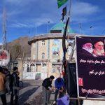 برپایی ایستگاه صلواتی به مناسبت شهادت حضرت فاطمه(س)در هنزا +تصاویر