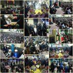 ازدواج آسان ۷زوج جوان رابریهمزمان با جشن  ولادت حضرت فاطمه زهرا (سلام الله علیها)برگزار شد+عکس
