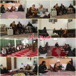 دیدار نماینده مردم استان کرمان درمجلس خبرگان و فرمانده سپاه رابر با تعدادی از خانواده های  شهدای رابر