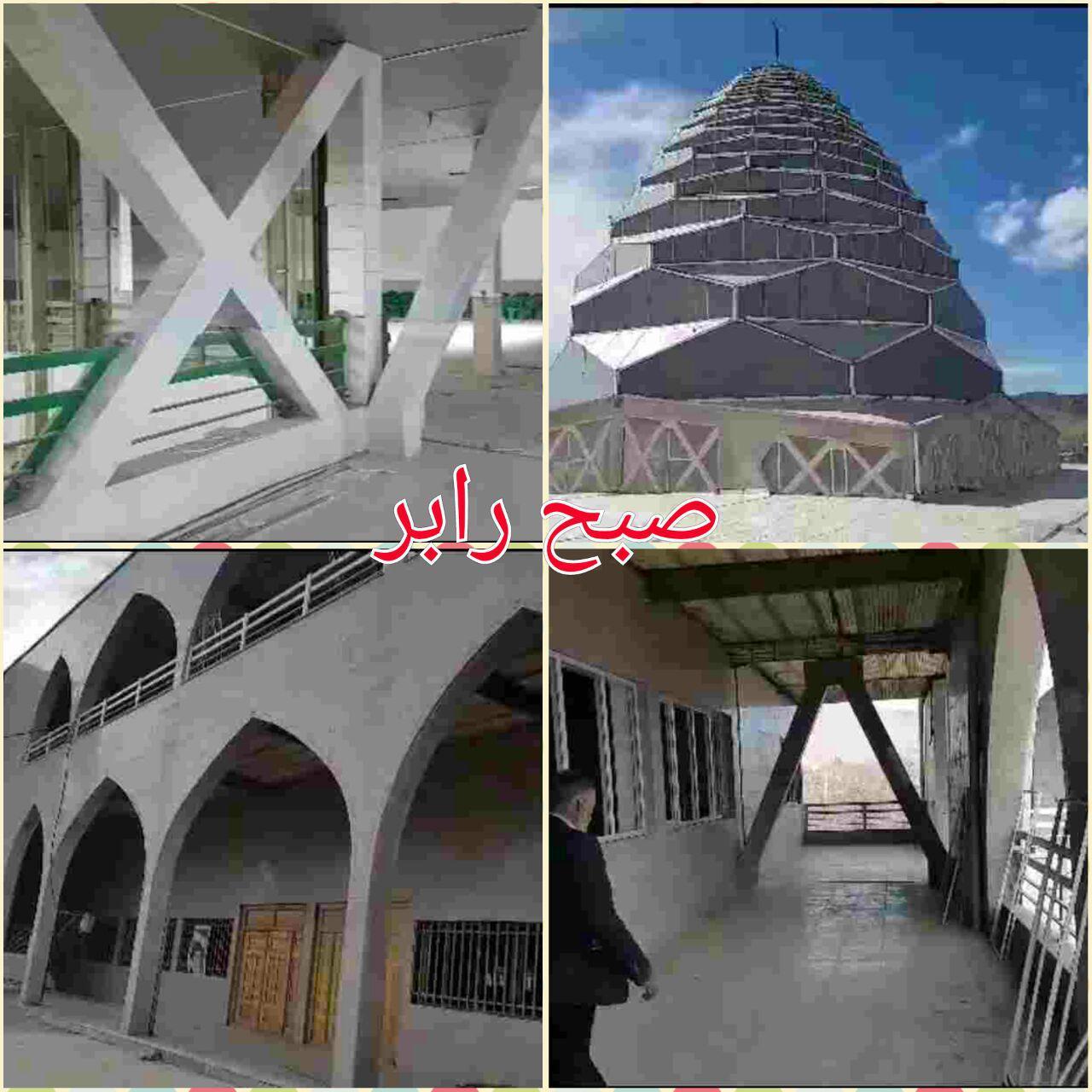 ساخت بزرگترین مصلی جنوب شرق استان توسط واقف رابری