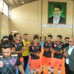 صعود تیم رابر به فینال لیگ برتر فوتسال استان کرمان