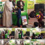 جشن ولادت حضرت ابوالفضل(ع) در رابر/ تصاویر